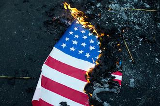 США упали, чтобы отжаться