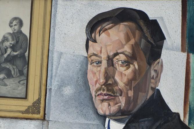 Юрий Анненков. Портрет Александра Тихонова