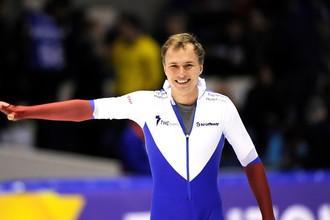 Павел Кулижников стал чемпионом мира по конькобежному спорту на дистанции 500 метров