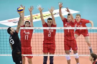 Россия выиграла в финале чемпионата Европы по волейболу