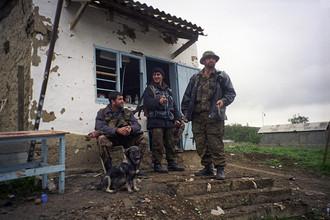 Дагестанские ополченцы