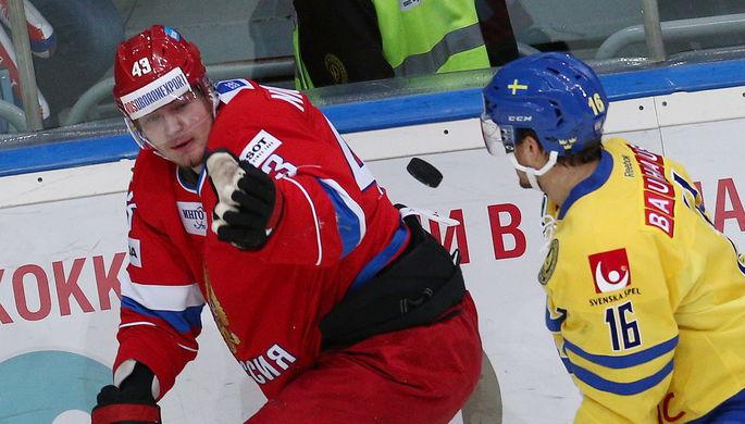 Несмотря на юность, Валерий Ничушкин (слева) успел поиграть за сборную России