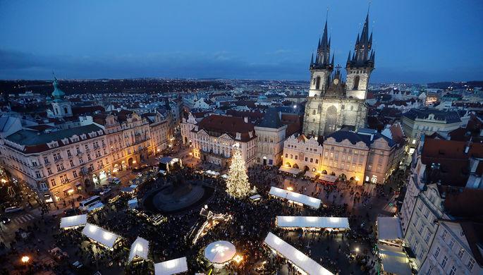 Староместская площадь в Праге, Чехия