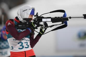 Российская биатлонистка Ульяна Кайшева