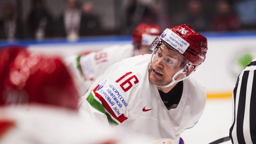 Нападающий сборной Белоруссии по хоккею Джефф Плэтт