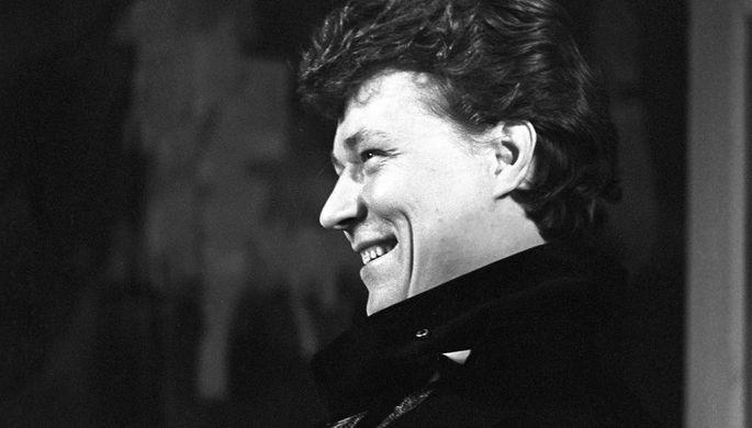Актер Игорь Охлупин на сцене Московского академического театра имени Вл. Маяковского, 1972 год