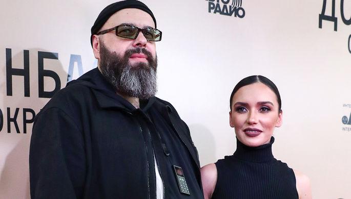 Продюсер Максим Фадеев и певица Ольга Серябкина