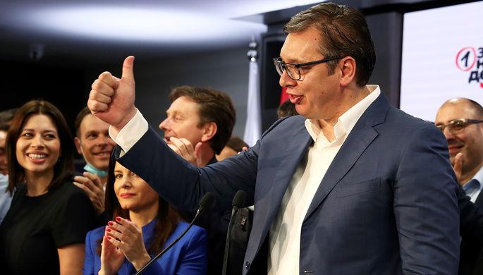 Президент страны Александар Вучич