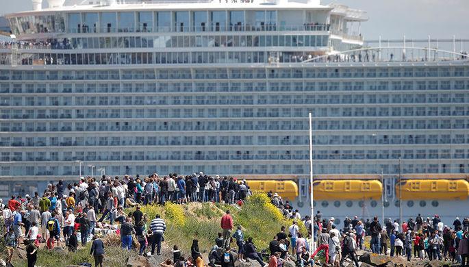 Опасным норовирусом заразились 277 пассажиров круизного лайнера