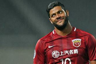 Халк, выступавший в России за «Зенит», сейчас является одной из главных звезд китайской лиги