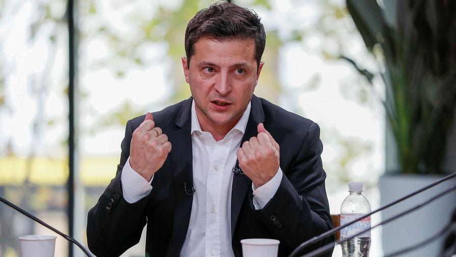 Зеленский рассказал об этапах возвращения контроля над Донбассом