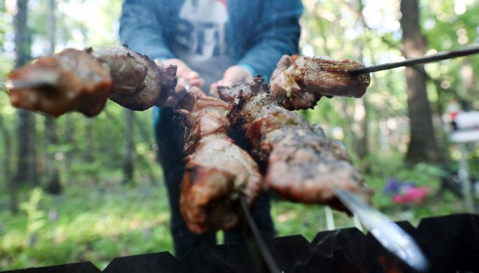 «Пандемия далека от завершения»: Роспотребнадзор дал советы по шашлыкам на майских