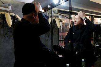 Двойник Ким Чен Ына в Гонконге, 25 января 2017 года