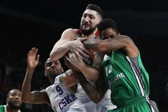 Баскетбольный ЦСКА принимает на своей площадке «Дарушшафаку Догуш»