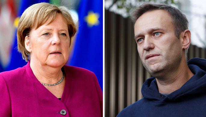 Меркель у Навального: в Кремле обратили внимание