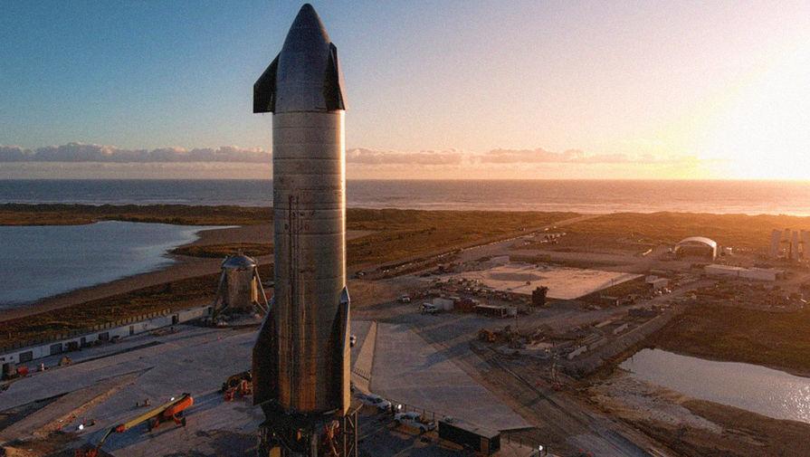 Starship компании SpaceX успешно приземлился в Техасе