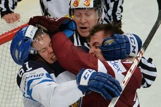 Сборная Латвии сенсационно вырвала победу у финнов