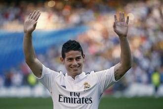 Хамес Родригес с детства мечтал выступать за мадридский «Реал»