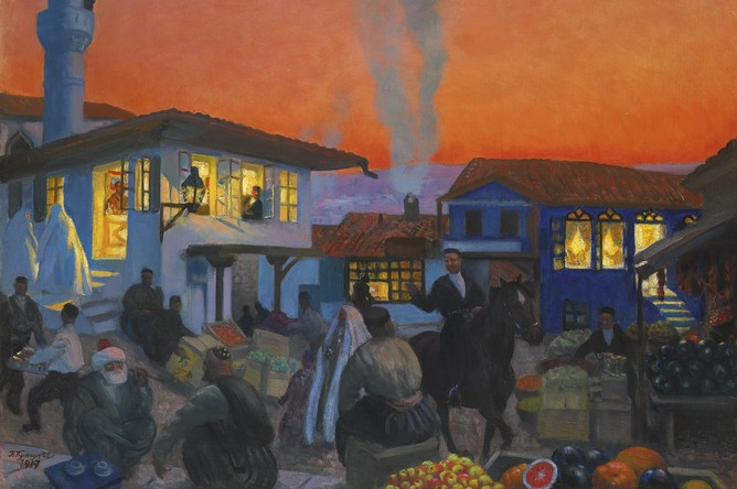 Борис Кустодиев. Бахчисарай