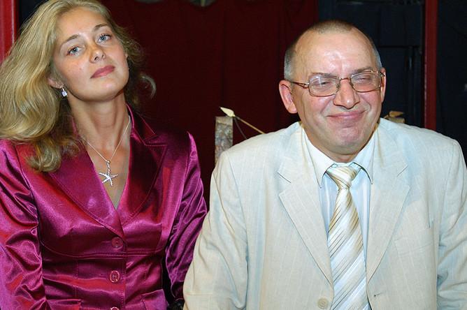 Народный артист России Сергей Арцибашев с женой в Театре им. Вл. Маяковского