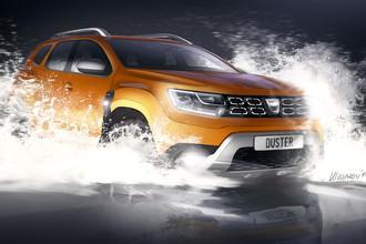 Renault рассекретил новый Duster