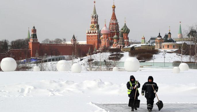 «Такого не было 10 лет»: в Москве ожидают сильные морозы
