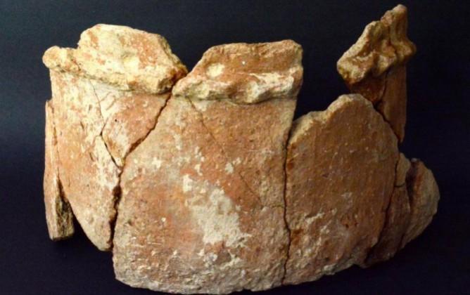 Артефакт из поселения в Иордании