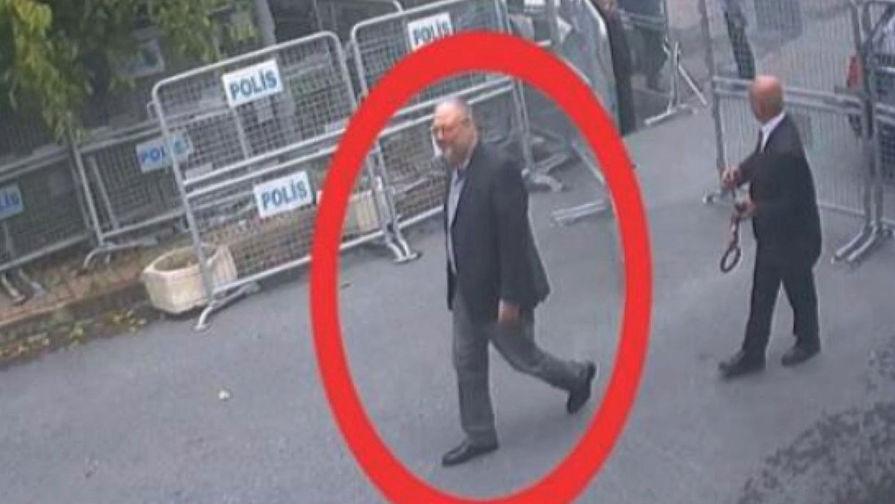 CNN опубликовал видео, на котором якобы вывозят останки расчлененного Хашукджи