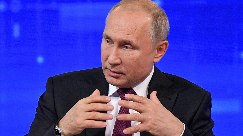 Путин рассказал о символе перемен