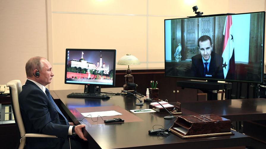 Налаживается мирная жизнь: Путин и Асад обсудили Сирию