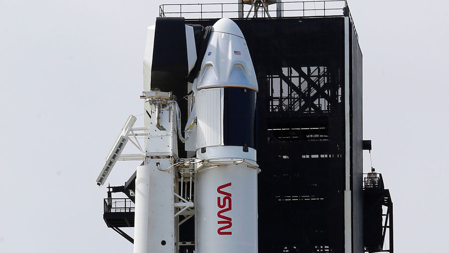 Накануне запуска ракеты Falcon 9 с мыса Канаверал, 13 ноября 2020 года