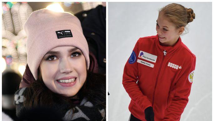 Алина Загитова и Александра Трусова