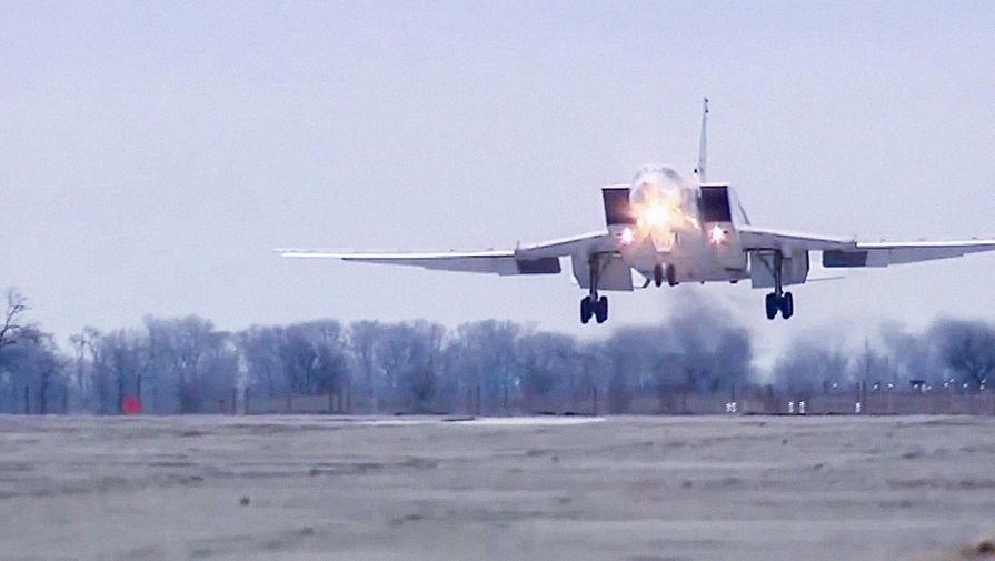 Под Астраханью пилоты посадили на грунт сверхзвуковой бомбардировщик