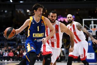 «Химки» выиграли у «Црвены Звезды» в рамках баскетбольной Евролиги