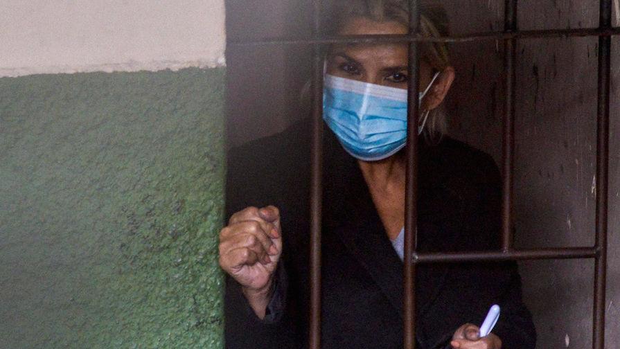 Бывшего президента Боливии Аньес переведут из тюрьмы в больницу