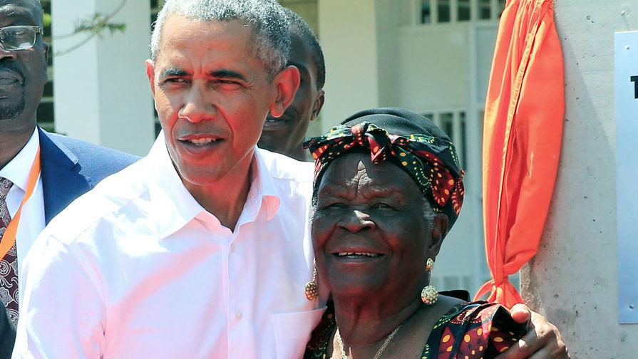 Барак Обама и Сара Обама, 2018 год