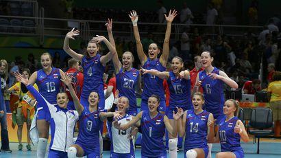 Женская сборная России по волейболу разгромила Аргентину в первом матче на Олимпиаде