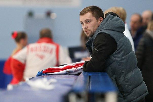 Тренер по фигурному катанию Сергей Давыдов