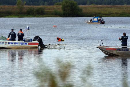 По данным МЧС России, на борту находилось 45 человека – 37 пассажиров и 8 членов экипажа.