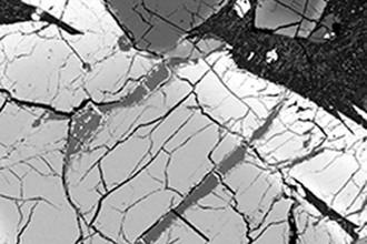 Прожилки марсианского метеорита хранят излишки бора