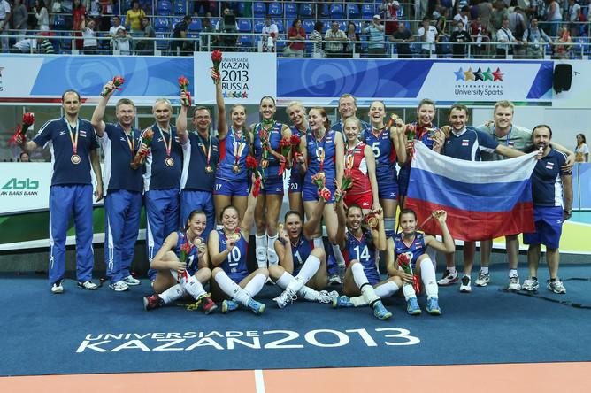 Женская сборная по волейболу