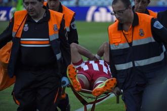 Нападающий «Атлетико» и сборной Испании Диего Коста рискует пропустить чемпионат мира из-за перелома ноги
