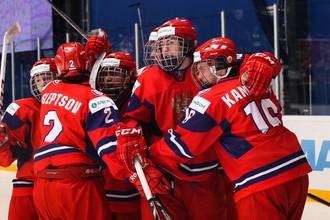 Юниорская сборная России (U18) в 1/4 финала чемпионата мира в Финляндии сыграет с чехами