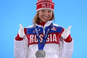 Отстраненная конькобежка Ольга Фаткулина