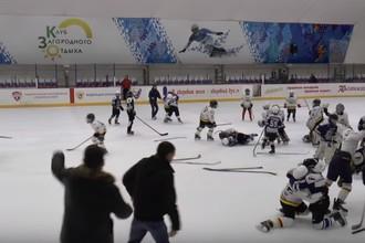 Драка юных хоккеистов во Владикавказе