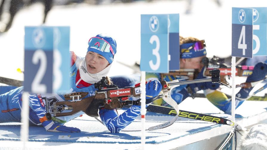 Биатлонистка Миронова показала худшую стрельбу в карьере в спринте