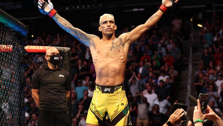 Бразильский боец Чарльз Оливейра
