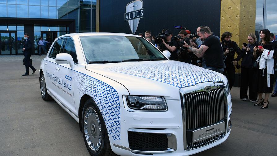 В России представили первый в мире водородный автомобиль представительского класса