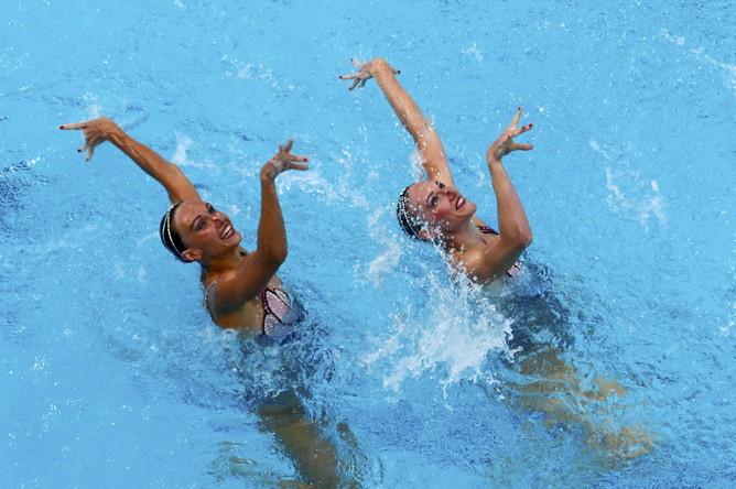 Российские синхронистки Наталья Ищенко и Светлана Ромашина выиграли золотые медали Олимпийских игр