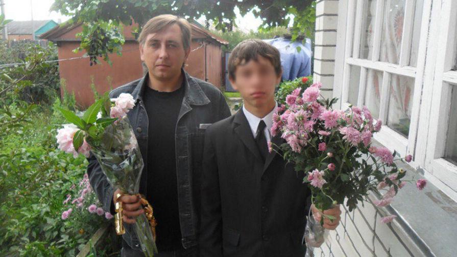 Виктор Киреев с сыном